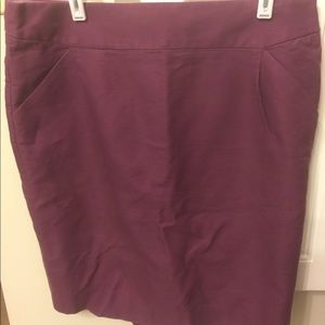 Purple J Crew Skirt